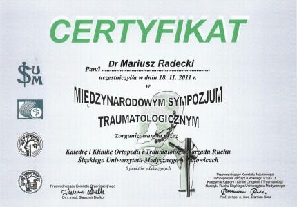 Certyfikat nr 32