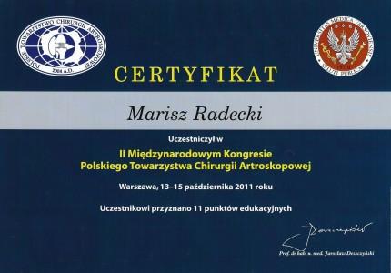 Certyfikat nr 34