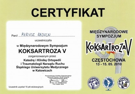 Certyfikat nr 41