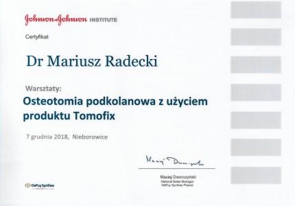 Certyfikat nr 15