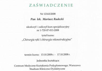 Certyfikat nr 44