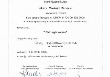 Certyfikat nr 46