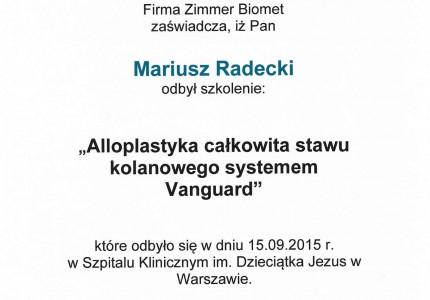 Certyfikat nr 24