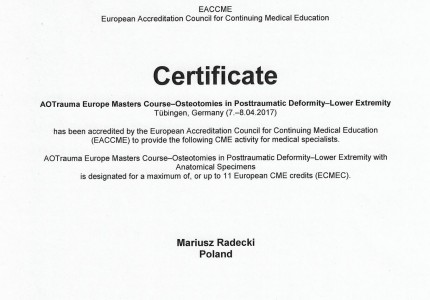 Certyfikat nr 6