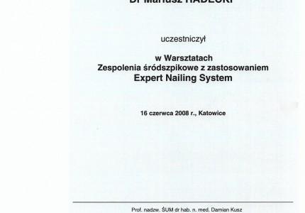 Certyfikat nr 45