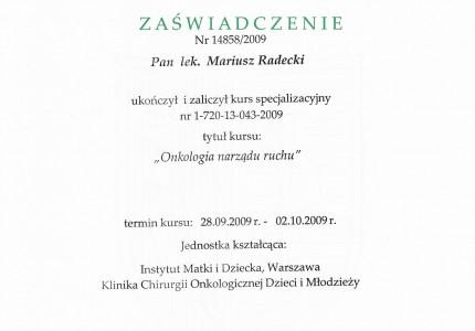 Certyfikat nr 42