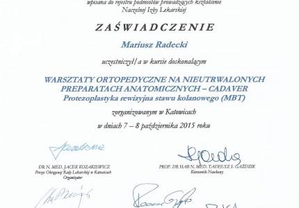 Certyfikat nr 23
